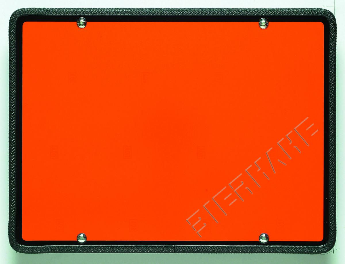 ADR-Warnfafel, orange, 400 x 300 mm auf Magnetgummi  ArtNr. 65 000 01